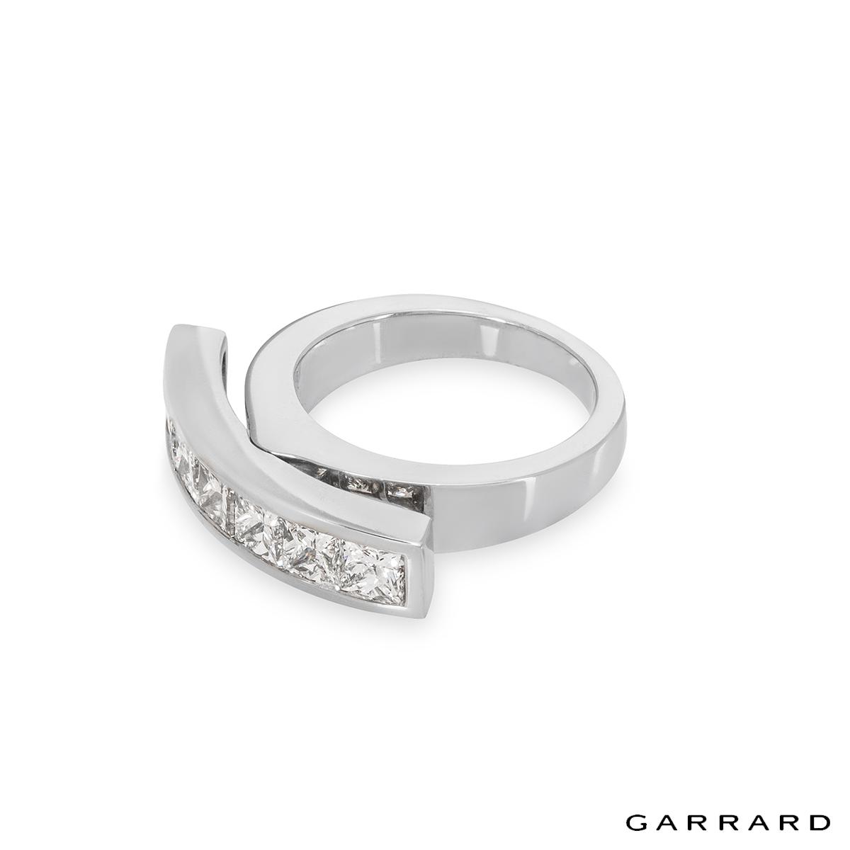 Garrard Platinum Diamond Dress Ring